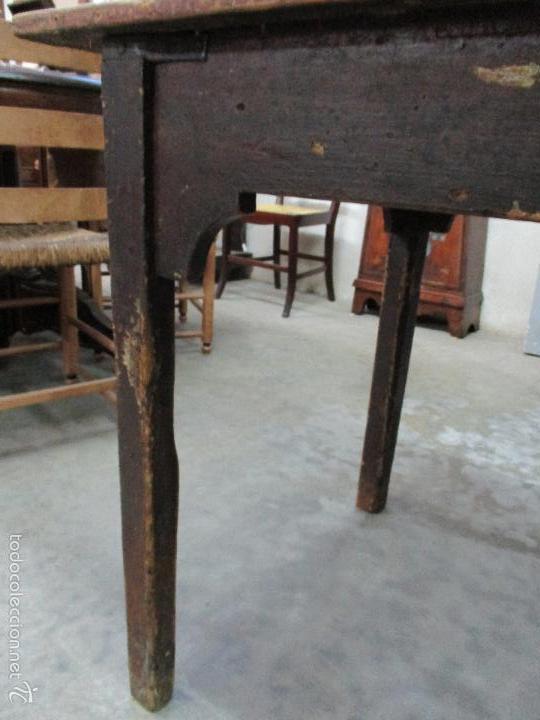 Antigua mesa de cocina rustica madera de comprar - Mesas antiguas de cocina ...