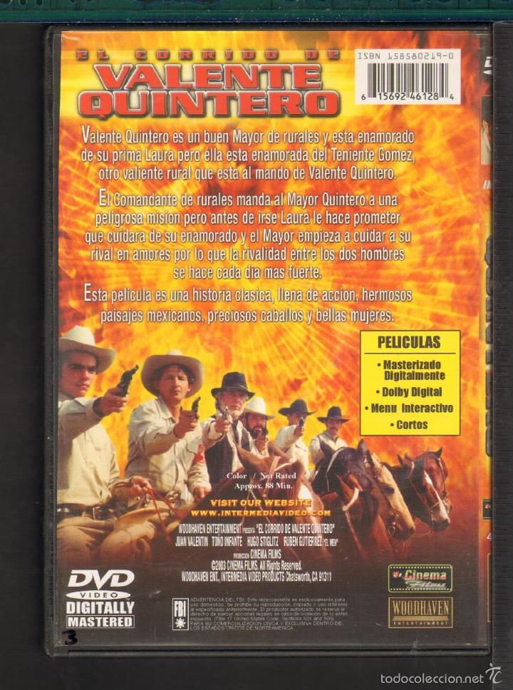 Cine Goyo Dvd Corrido De Valente Quintero Comprar Peliculas