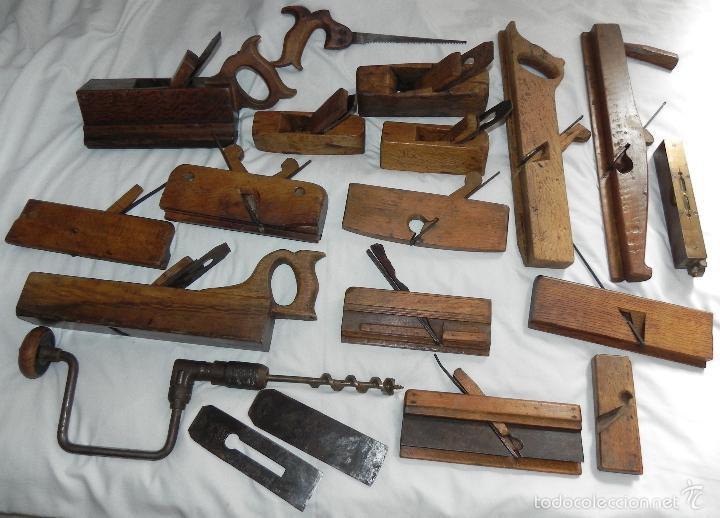 antiguo cepillo de carpintero ebanista - car - Comprar ...