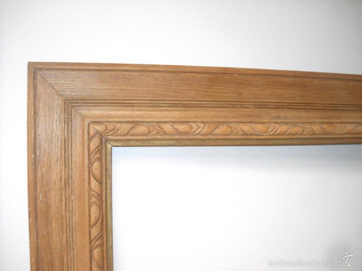 antiguo marco en madera de roble tallado.años 2 - Comprar Marcos ...