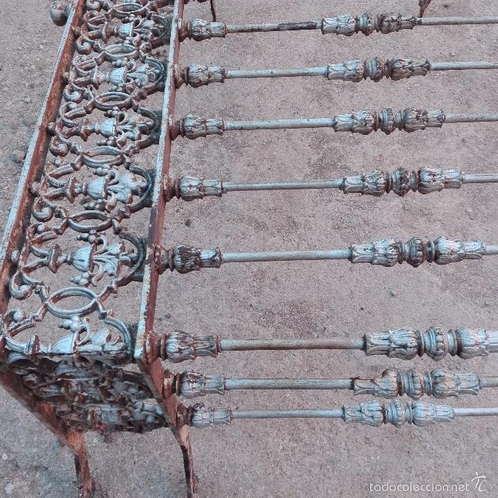 5 balcones modernistas antiguos en hierro y hie comprar - Balcones de forja antiguos ...