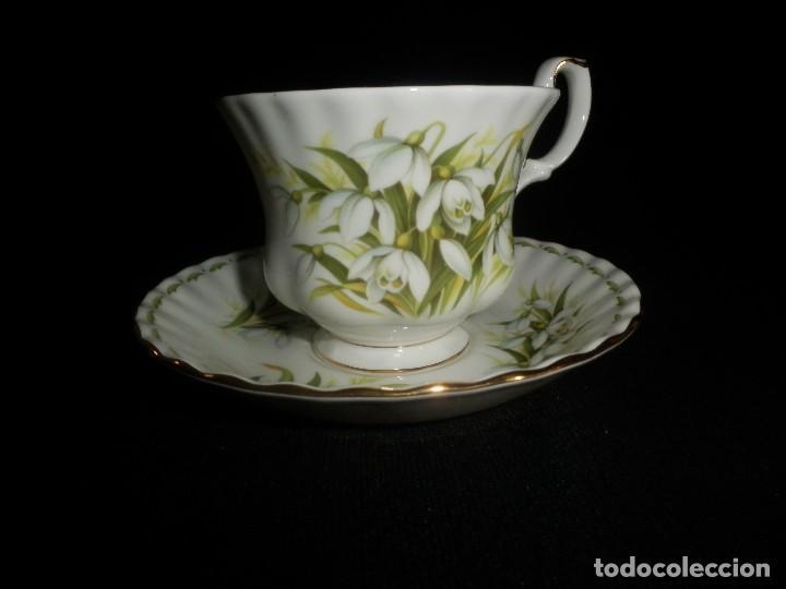 Juego taza y plato grande royal albert coleccio comprar - Porcelana inglesa antigua ...
