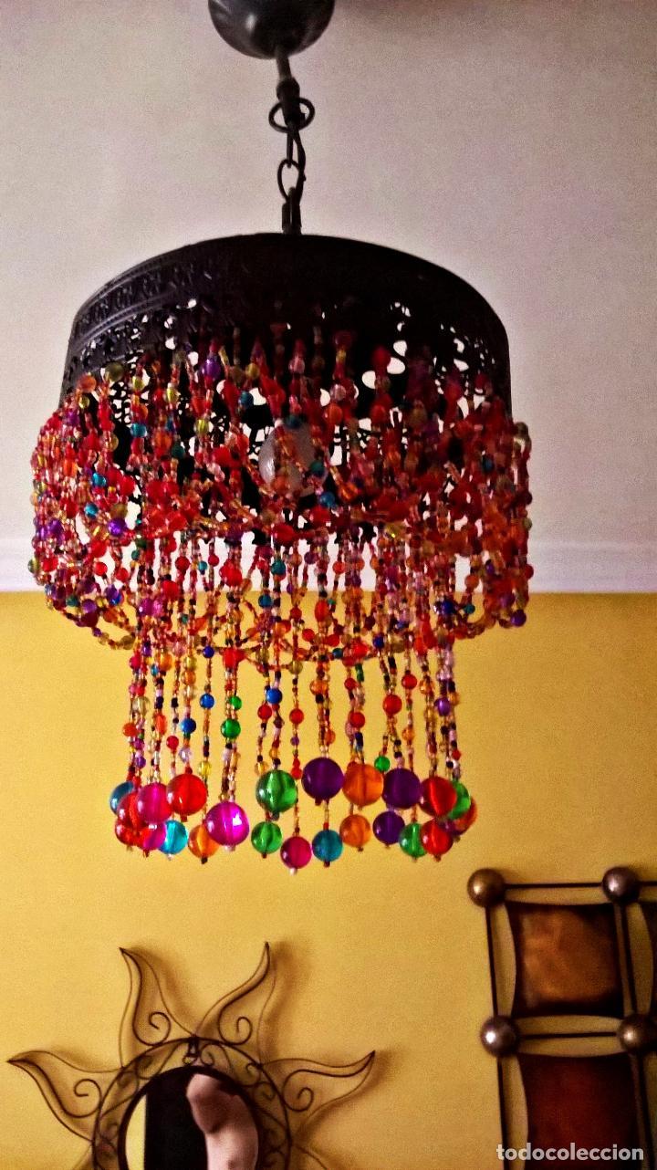 L mpara de techo estilo ind india turquia comprar - Lamparas de la india ...