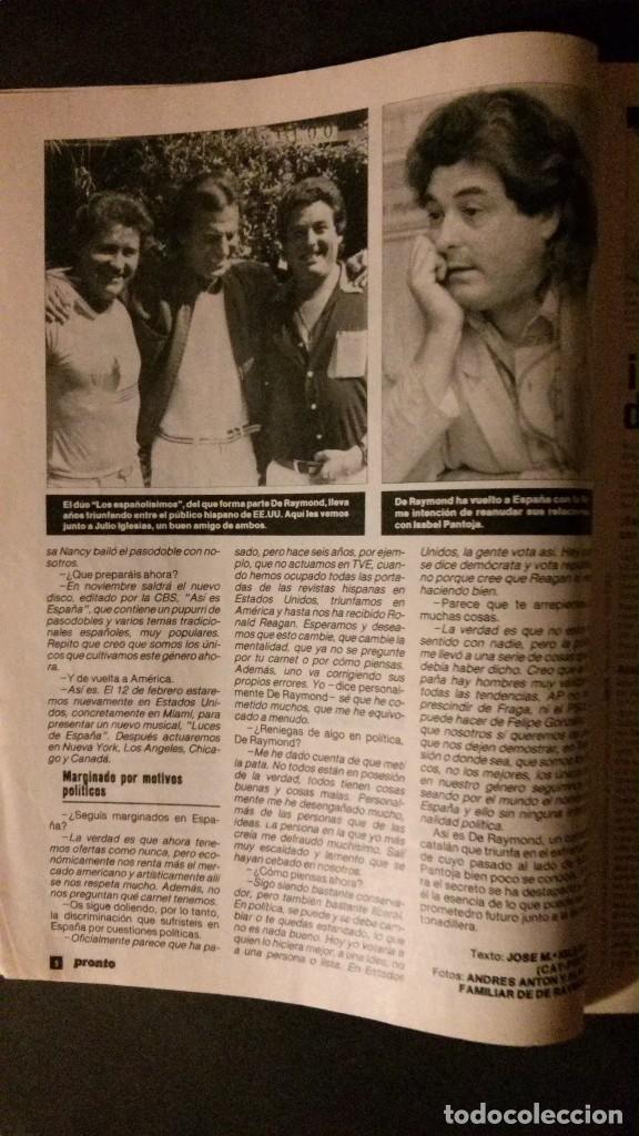Coleccionismo de Revista Pronto: - Foto 7 - 62567152