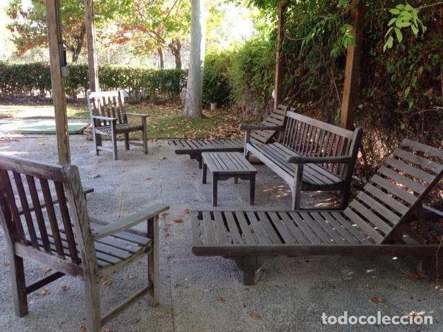 conjunto teka marca lister: 2 sillas 2 hamacas- - Comprar Muebles ...