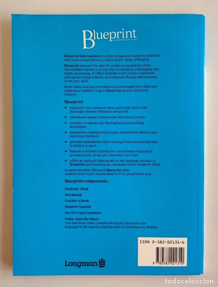 Blueprint intermediate students book abbs comprar cursos de libros de segunda mano foto 2 66014766 malvernweather Gallery
