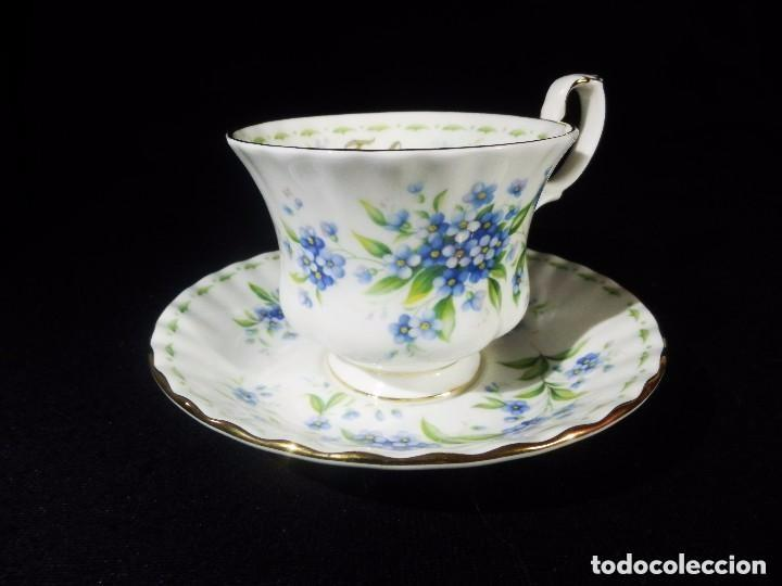 Juego taza y royal albert coleccio comprar - Porcelana inglesa antigua ...