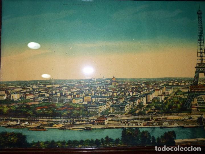 antigua panorámica de paris. nº 2 la tour eiffe - Comprar ...