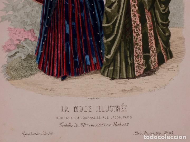 Grabado la mode illustrée paris kaufen alte zeitschriften