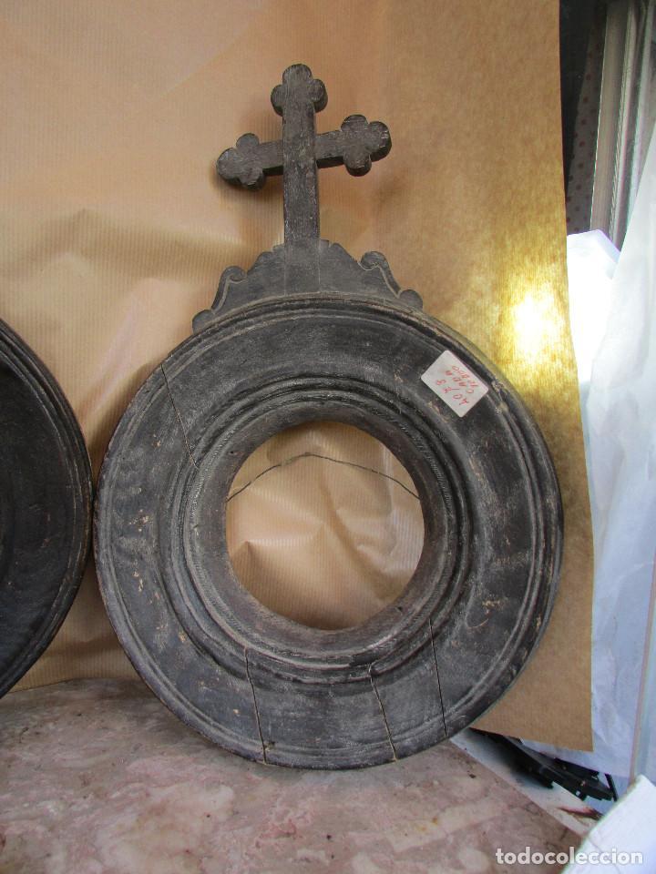 tres marcos de viacrucis siglo xviii. de iglesi - Comprar Cruces ...