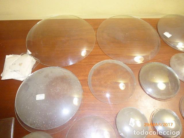 Lote 44 cristales para reloj de sobremesa pare comprar - Cristales para paredes ...