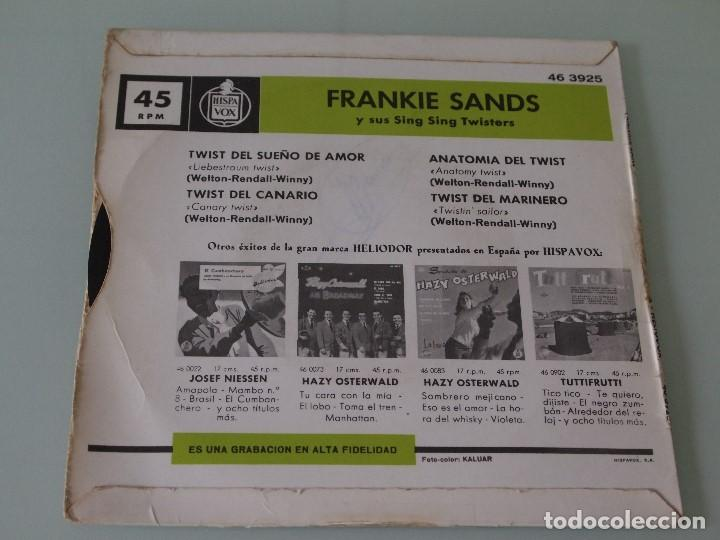 frankie sands y sus sing sing twisters (ep) - t - Comprar Discos ...