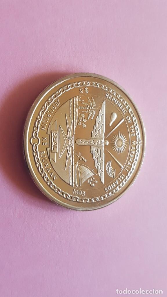 Islas Marshall 5 1993 Elvis Presley Calida Comprar Monedas