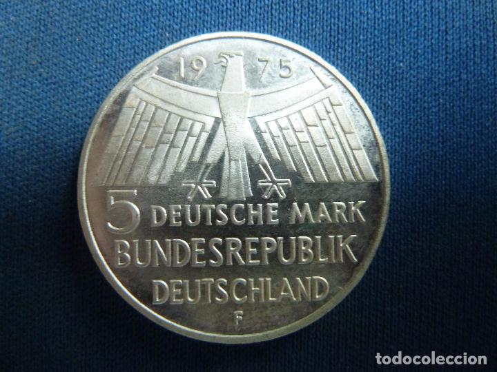 5 Mark 1975 Deutschland 5 Marcos Alemania Pla Comprar Monedas