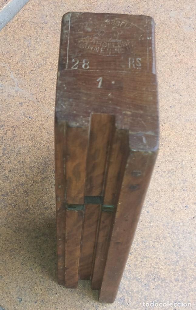 Garlopa y cepillo antiguo de carpintero ebanist comprar herramientas profesionales carpinter a - Ebanistas en barcelona ...