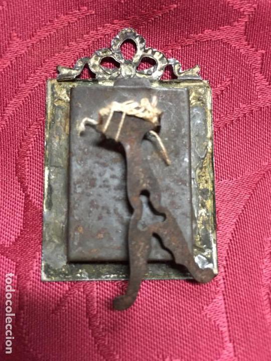 antiguo y precioso marco de metal medida 5x3,5 - Comprar Marcos ...