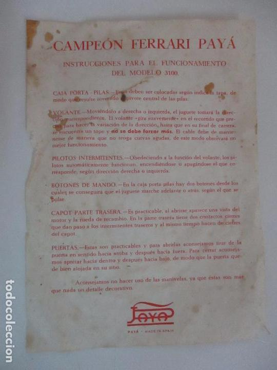Juguetes antiguos Payá: - Foto 33 - 101546963