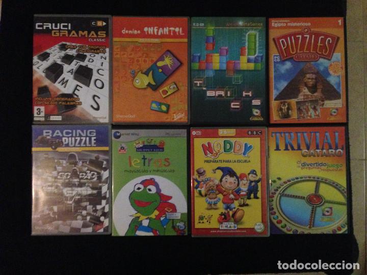 Lote De 22 Juegos Antiguos De Pc Y Enciclopedia Comprar