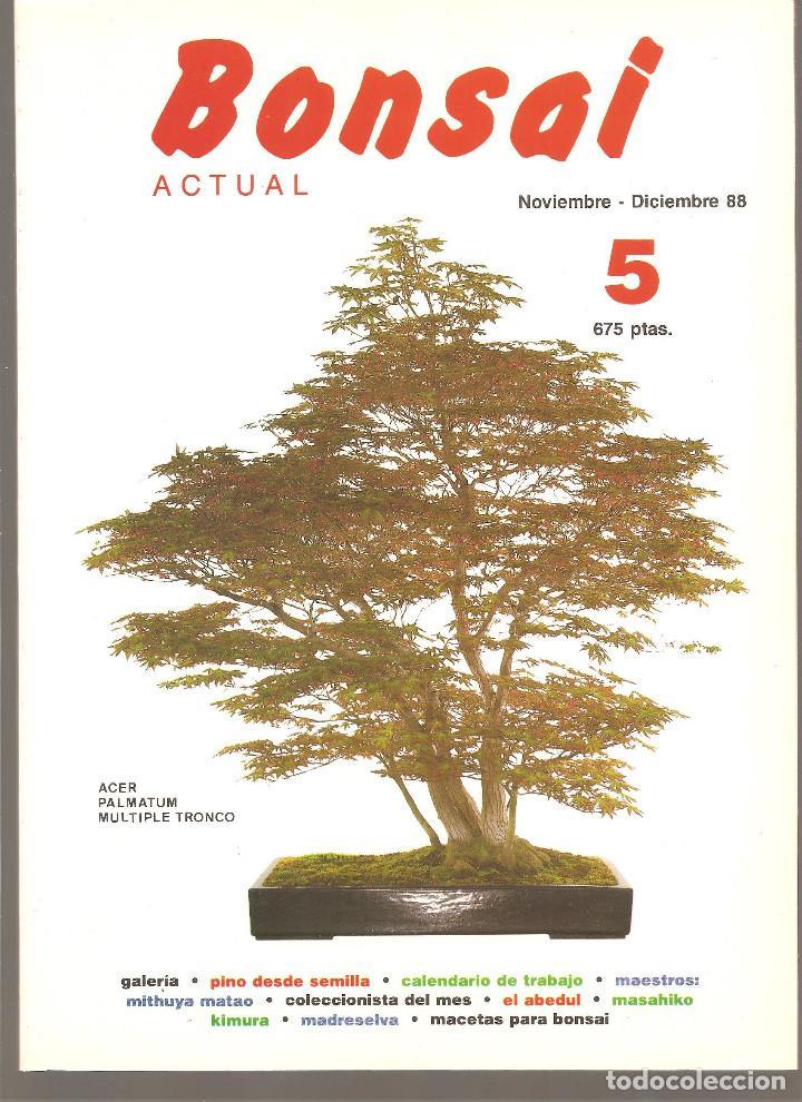 8 revistas bonsai actual - números 1 al 8 - 198 - comprar libros