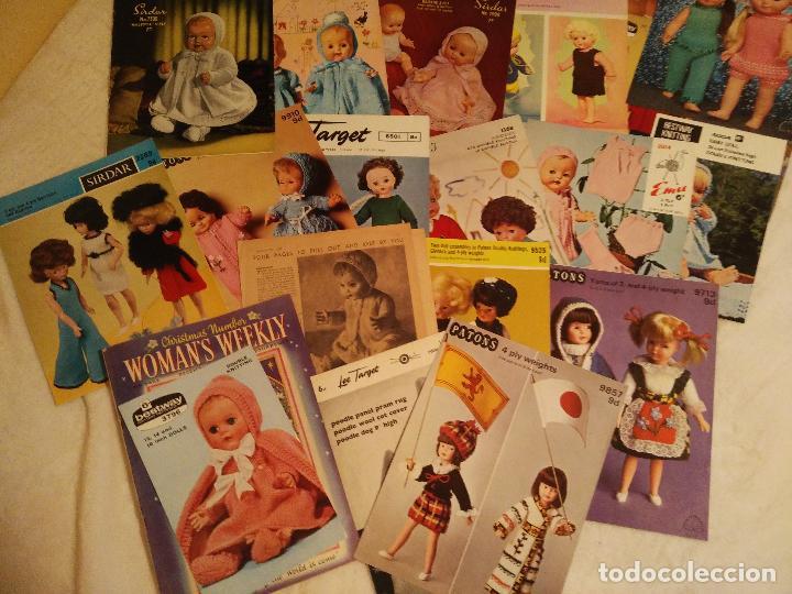 lote de revistas de patrones de punto muñecas m - Comprar Vestidos y ...