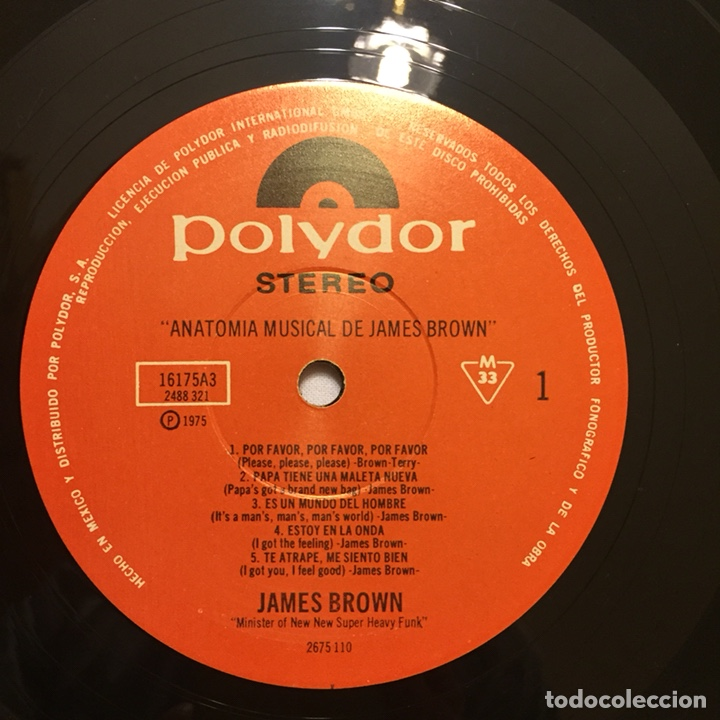 james brown - anatomía musical de james brown, - Comprar Discos LP ...