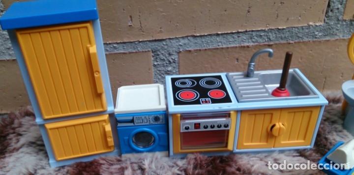 lote muebles cocina moderna playmobil lavadora - Comprar Playmobil ...
