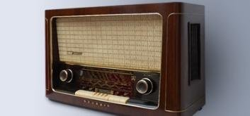 Radios, Grammophone, Rekorder und anderes