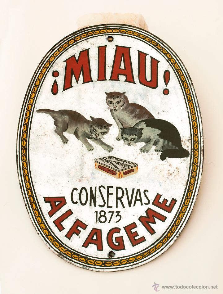 Lata de conservas Miau de Alfageme
