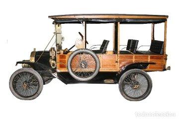 Coche clásico Ford -T del año 1912