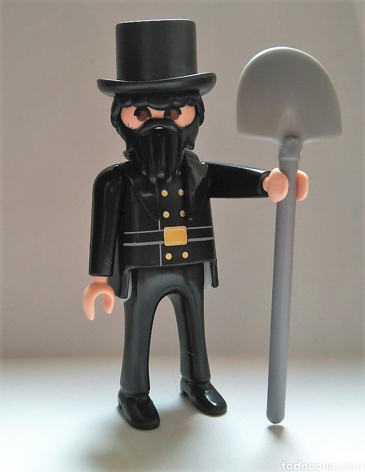 Enterrador de Playmobil (Halloween)