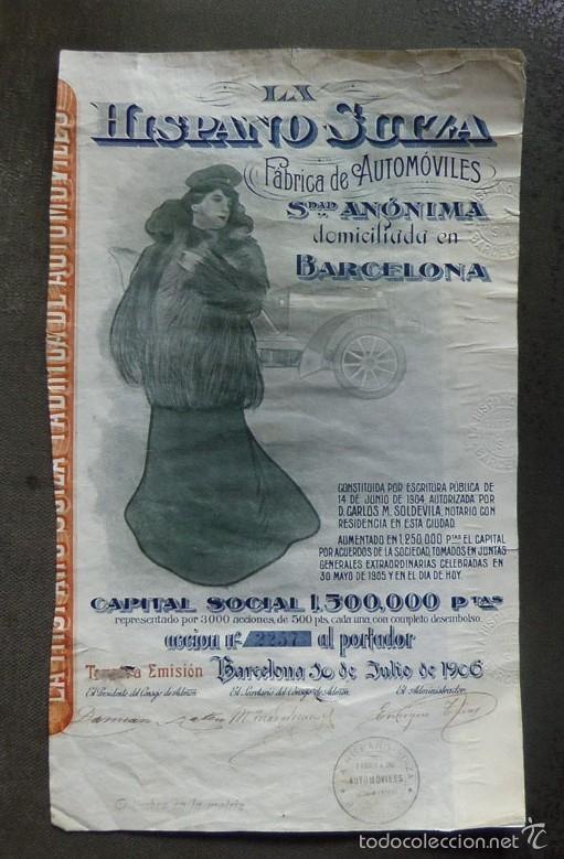 Acción de Hispano-Suiza