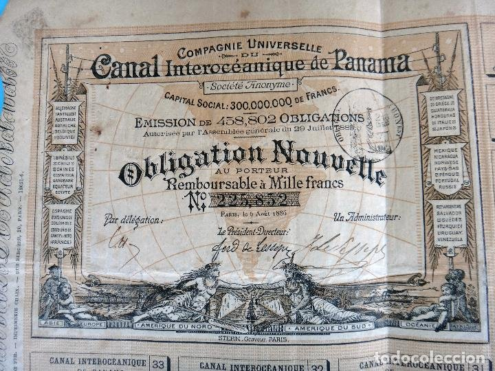 Acción Canal Interoceánico de Panamá