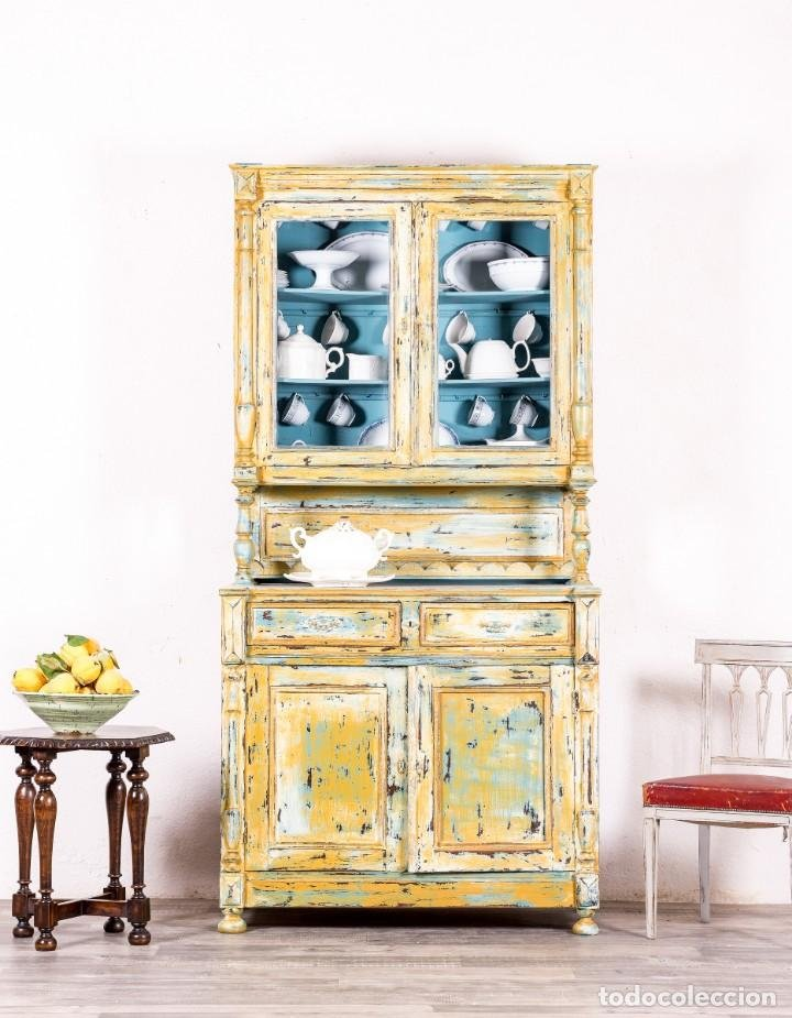 Mueble alacena restaurada