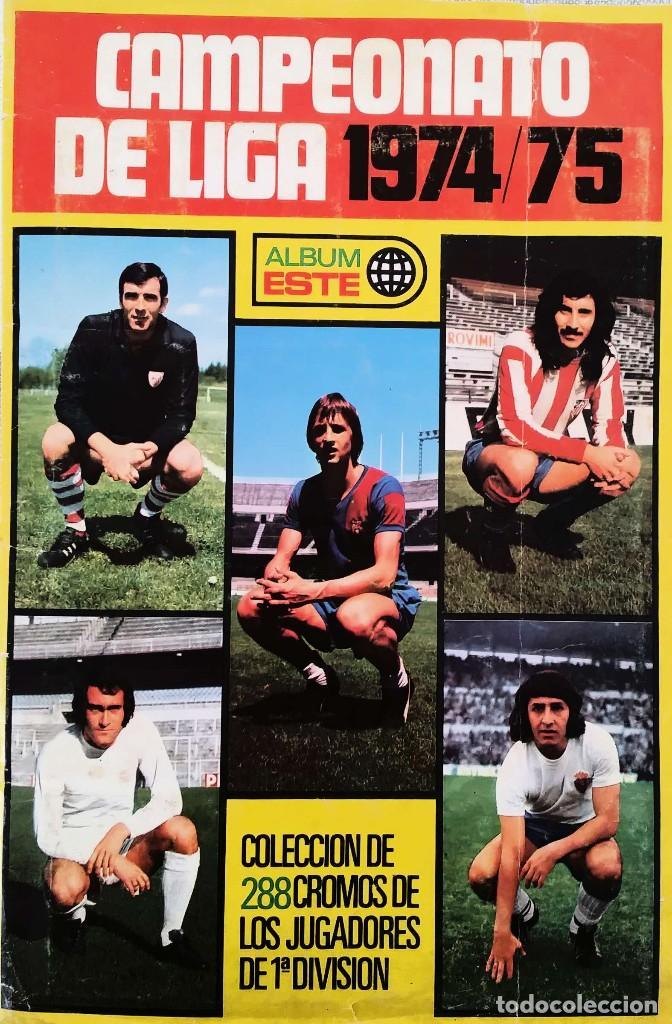 Album Campeonato de Liga 74/75