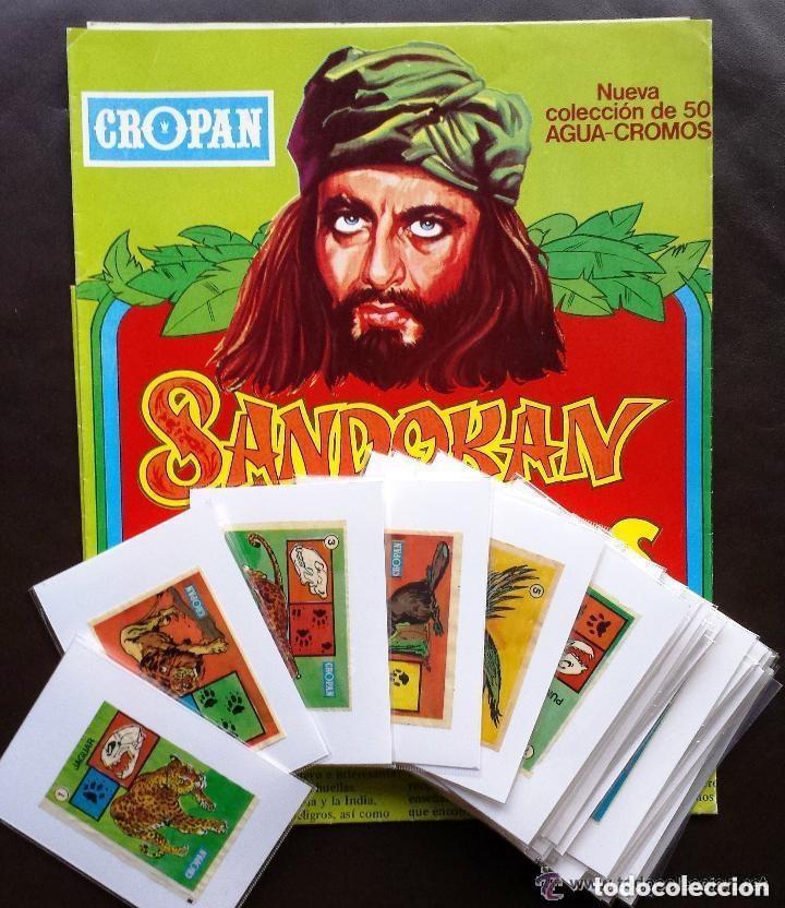 Álbum cromos Sandokan