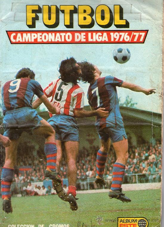 Album Liga 76/77