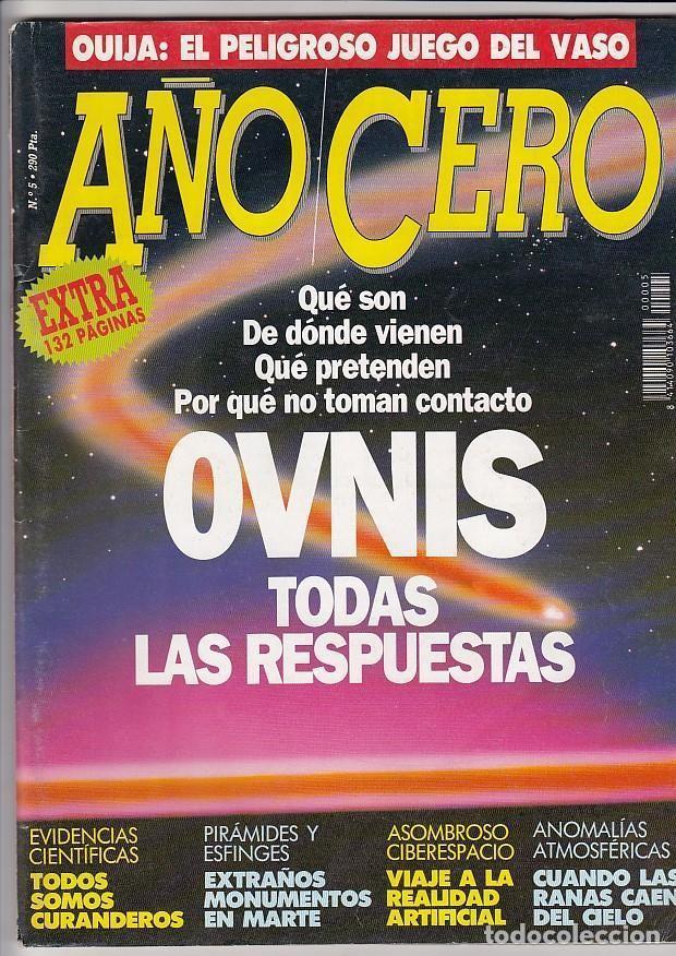 Revista Año Cero Ovnis