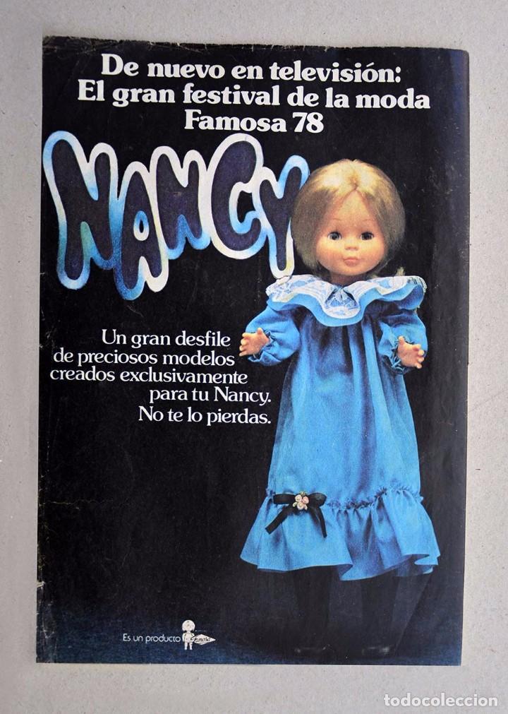 Anuncio de Nancy de Famosa