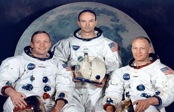 Astronautas que fueron a la luna