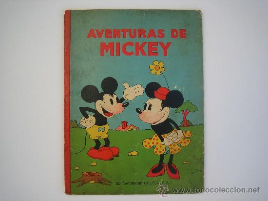 Las aventuras de Mickey en Editorial Calleja