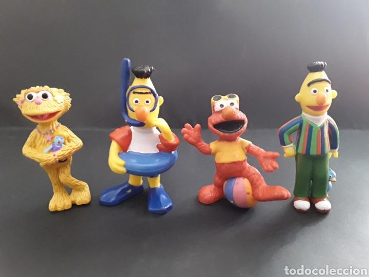 Muñecos de Barrio Sésamo