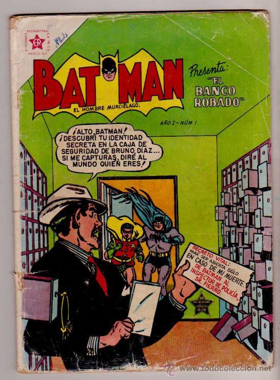Cómic de Batman el hombre murciélago, número 1