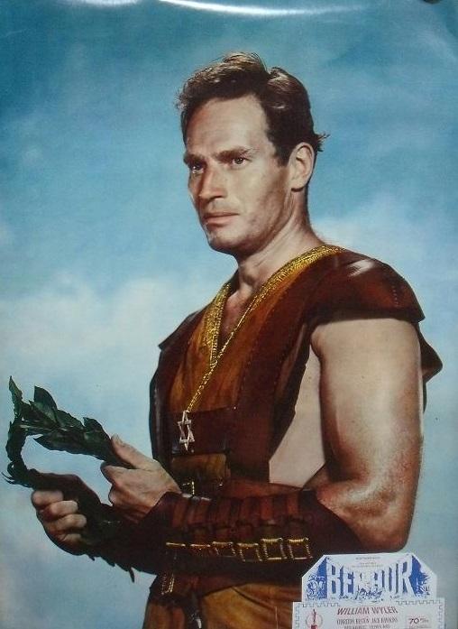 Ben-Hur con Charlton Heston