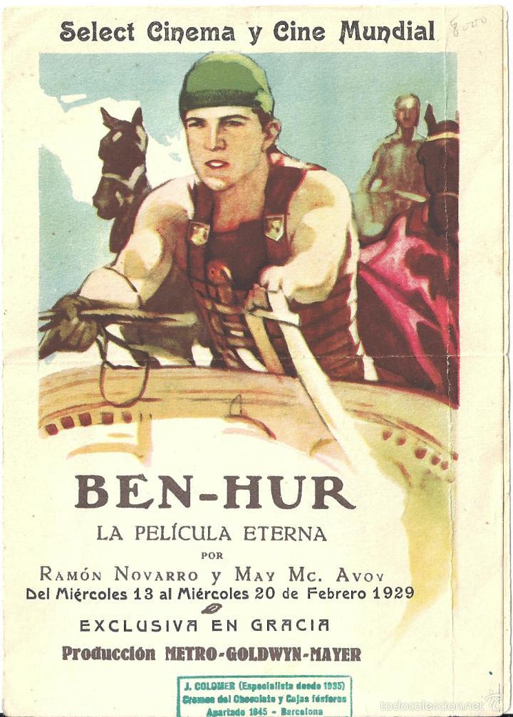 Ben-Hur por Ramón Novarro y May Mc. Avov