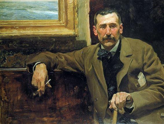 Pintura de Benito Pérez Galdós