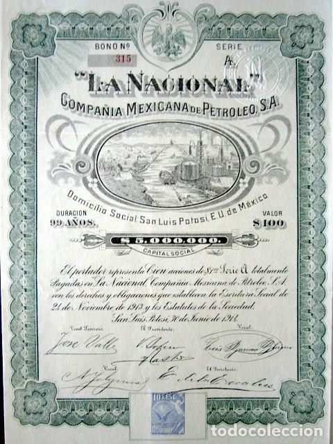 Acción de La Nacional