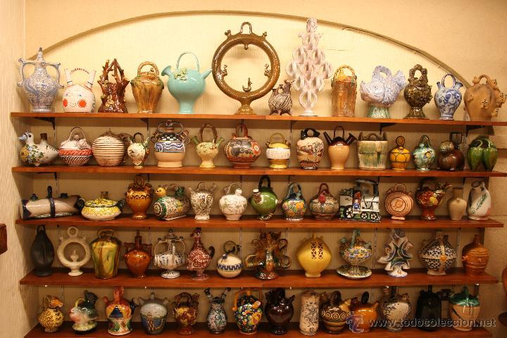 Colección de botijos