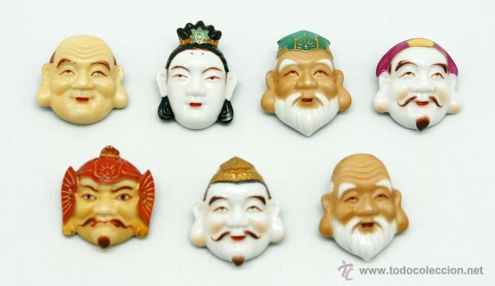 Botones de los sabios chinos