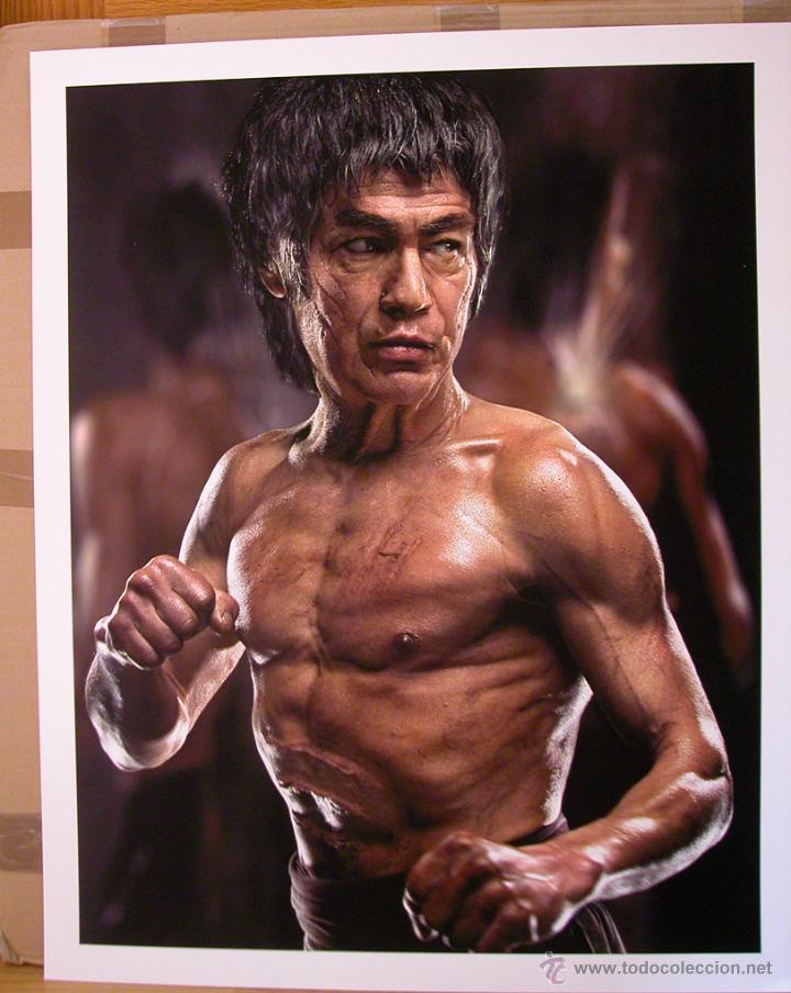 Fotografía artística de Bruce Lee mayor