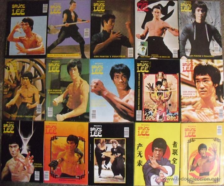 Revistas Bruce Lee